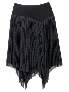 Issey Miyake Pre-Owned 1990's pleated skirt - Black