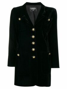 Chanel Pre-Owned 1990's nautical jacket - Black