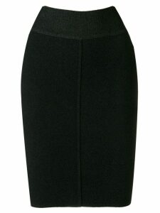 Alaïa Pre-Owned mini tube skirt - Black