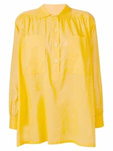 Yves Saint Laurent Pre-Owned loose fit shirt - Yellow