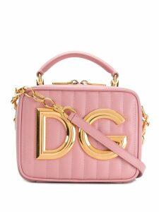 Dolce & Gabbana logo plaque bag - Pink