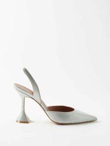 Belize - Mathilde Hand Loomed Cotton Blend Shirtdress - Womens - Ivory
