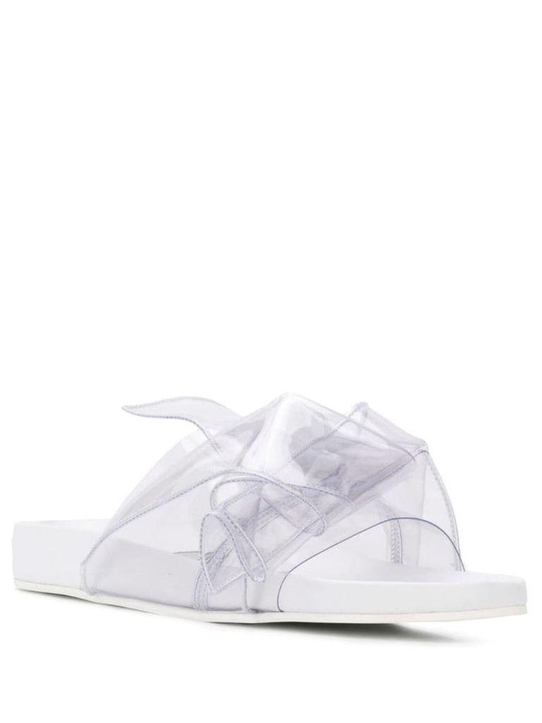 Nº21 slip-on sandals - White