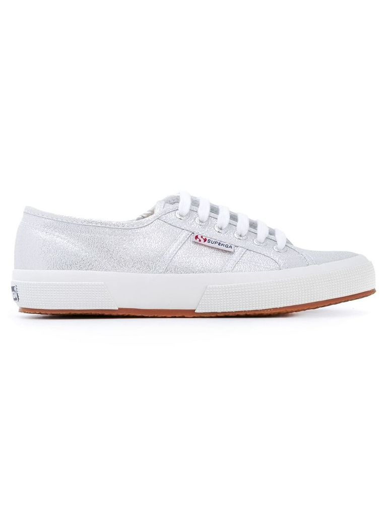 Superga classic lace-up sneakers - Grey