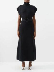 Dolce & Gabbana - Floral Print Silk Organza Dress - Womens - Multi