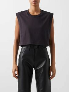 Borgo De Nor - Gertrude Animal Kingdom Print Cotton Maxi Dress - Womens - Green White
