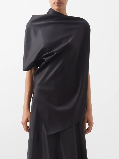 Borgo De Nor - Pandora Rainbow Print Cotton Maxi Dress - Womens - Multi