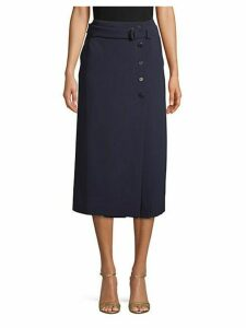 Bormio Belted Pencil Skirt