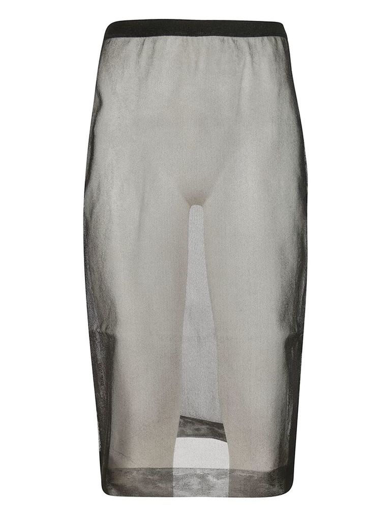 Miu Miu See-through Skirt