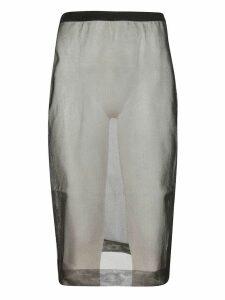 Miu Miu See-through Skirt