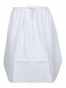 Jil Sander Navy Drawstring Skirt