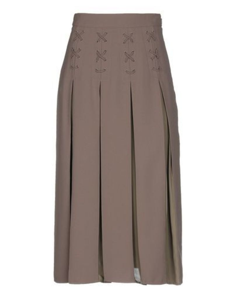 ELISABETTA FRANCHI 24 ORE SKIRTS 3/4 length skirts Women on YOOX.COM