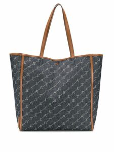 Stella McCartney monogram medium tote bag - Blue