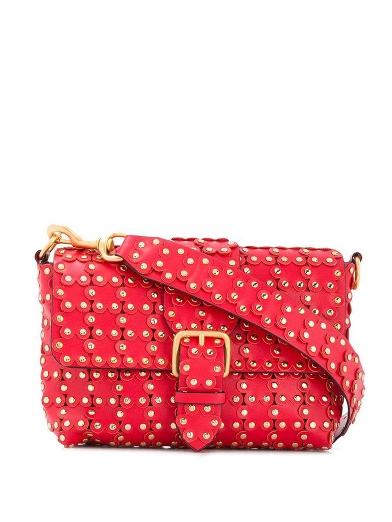 Red Valentino RED(V) flower appliqué shoulder bag