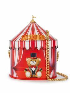 Moschino circus bucket bag - Red