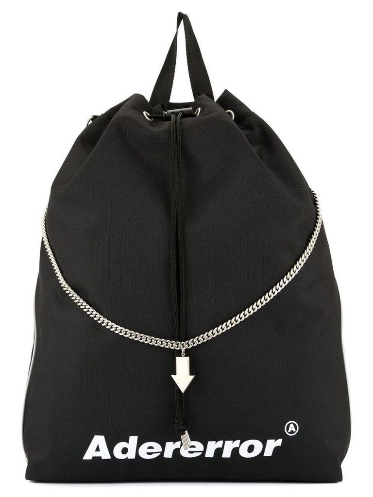 Ader Error chain trim backpack - Black