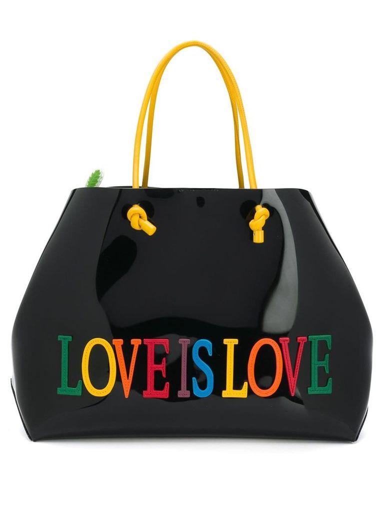 Alberta Ferretti Love Is Love tote - Black