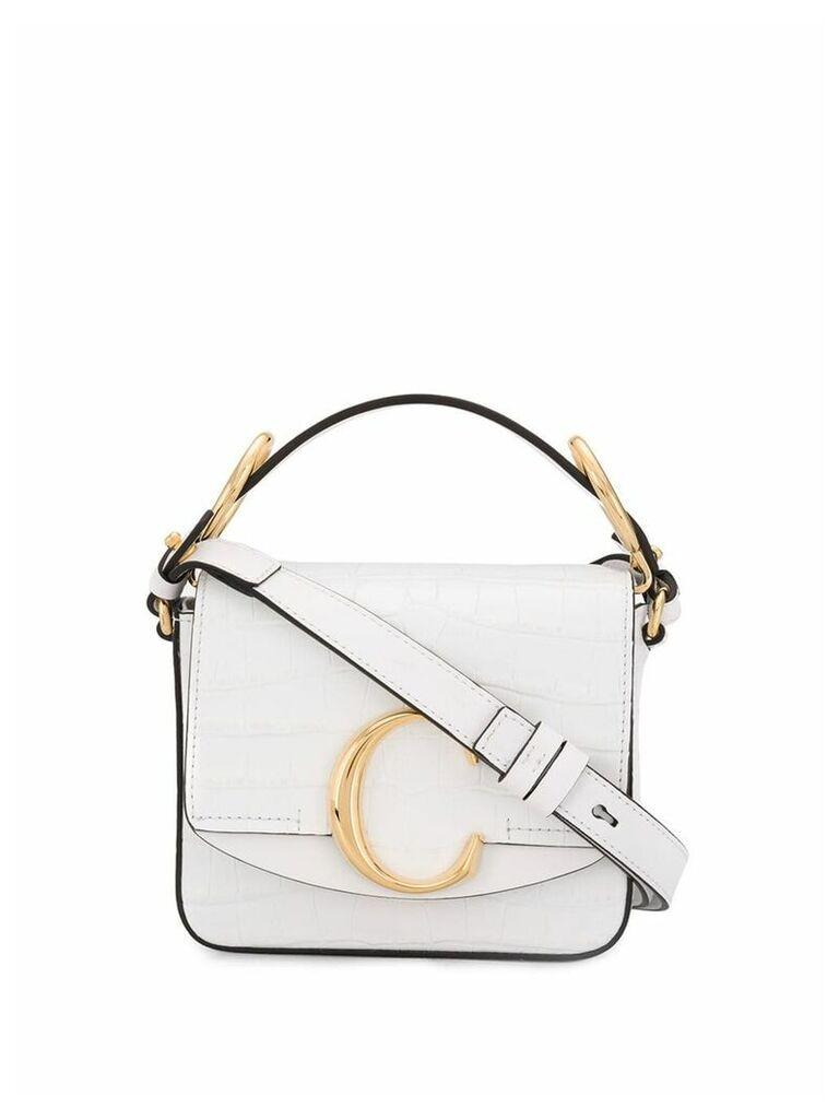 Chloé C shoulder bag - White