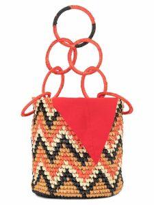 Sensi Studio loops bucket bag - Orange
