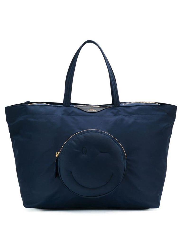 Anya Hindmarch Chubby Wink large tote - Blue