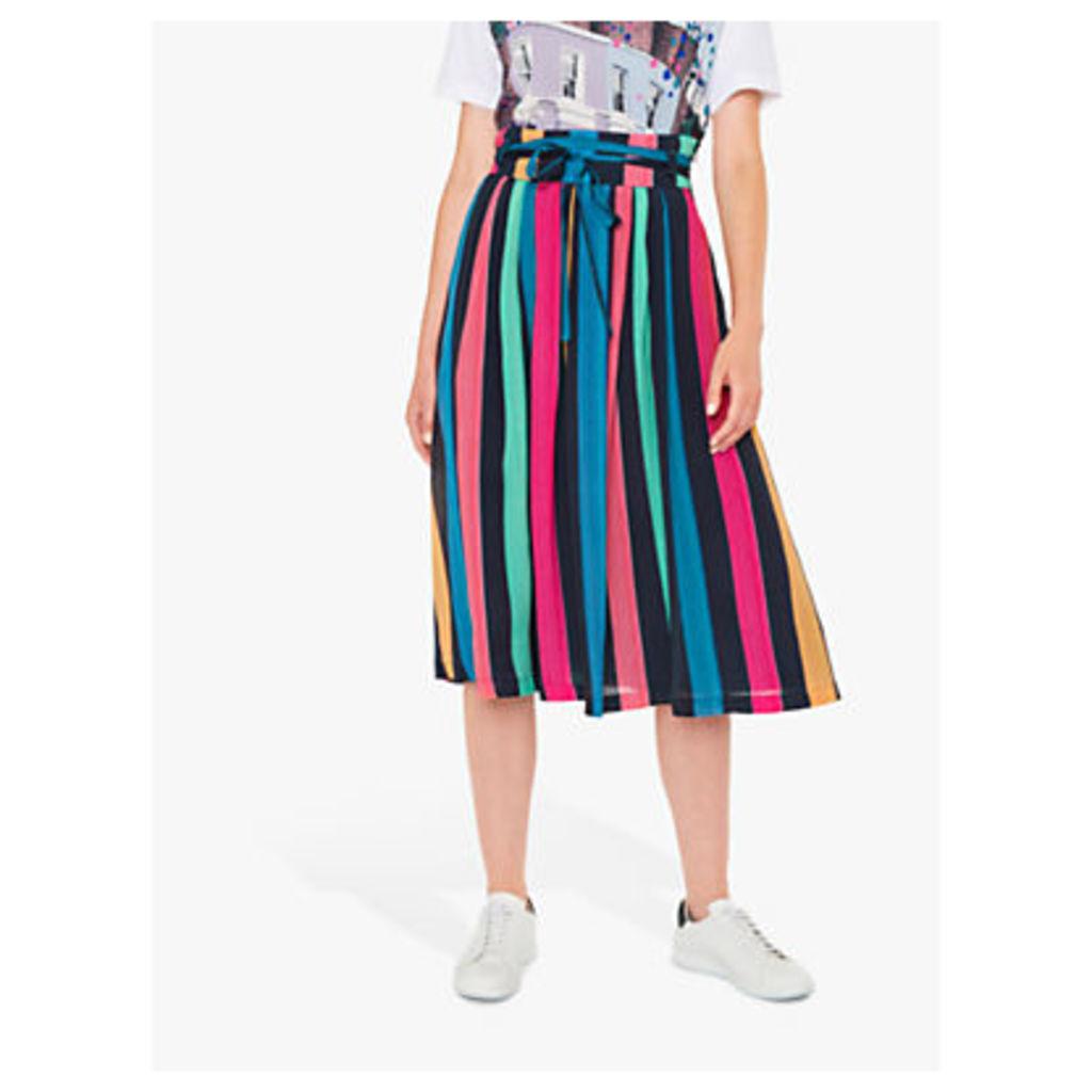 PS Paul Smith Rainbow Stripe Skirt, Multi