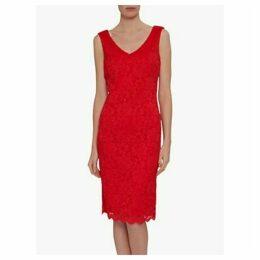 Gina Bacconi Giovanna Lace Shift Dress