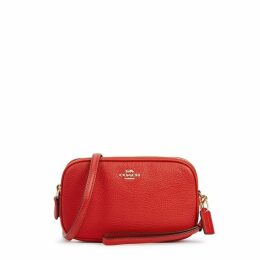 Coach Red Leather Cross-body Bag