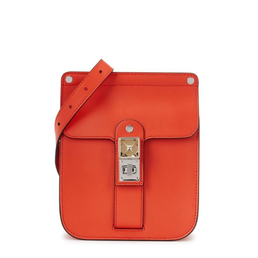 Proenza Schouler PS11 Red Leather Shoulder Bag