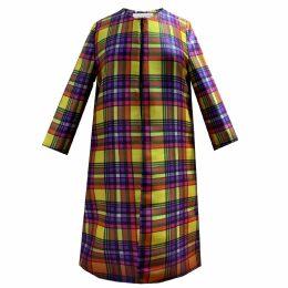 Louise Black - Mulberry High Heeled Blazer Dress