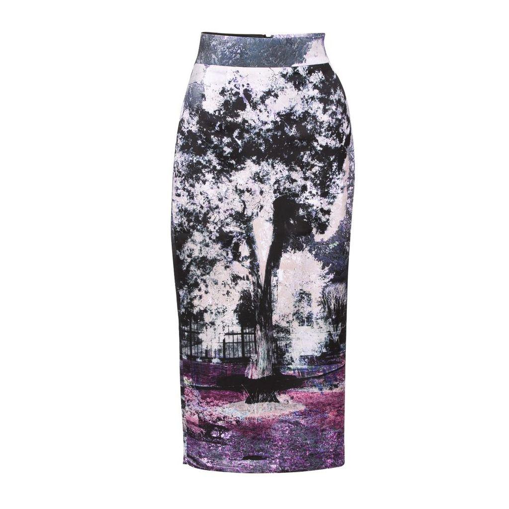 Louise Black - Lucius Printed Midi Skirt