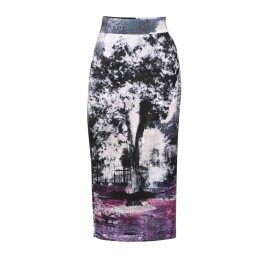 Louise Black - Lucius Printed Midi Skirt