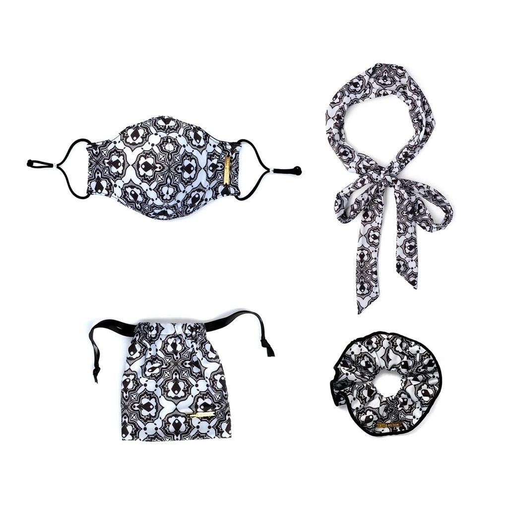 McVERDI - Red Striped Spencer Dress In Denim