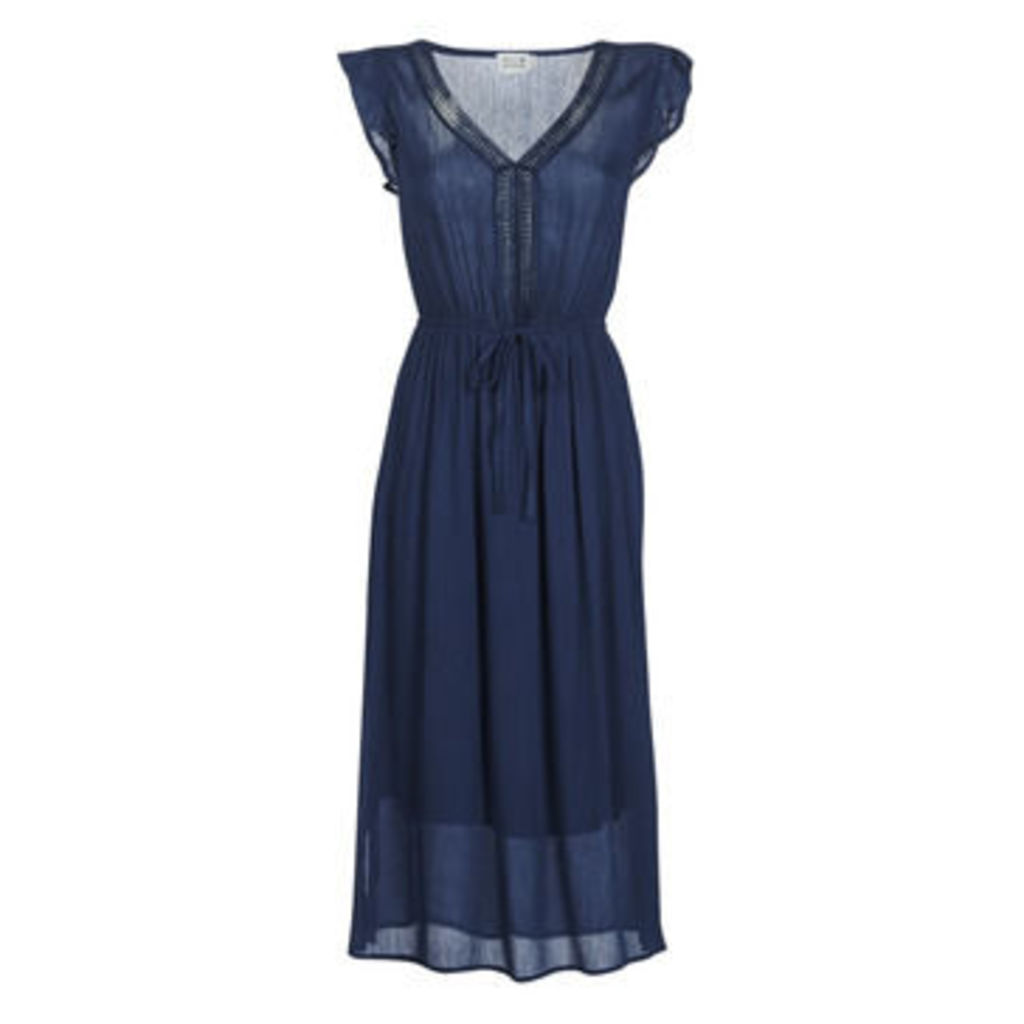Molly Bracken  MOLLIUXE  women's Long Dress in Blue