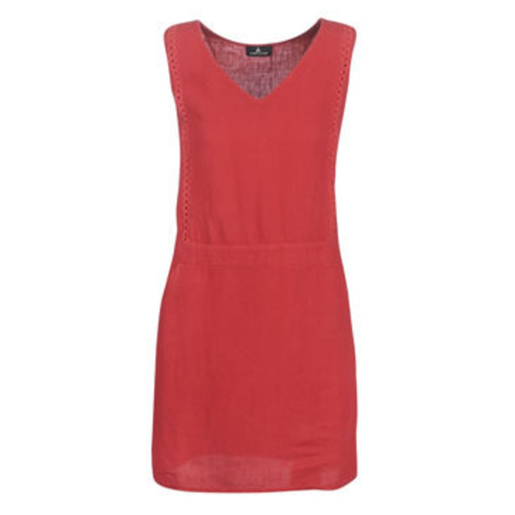 One Step  TINA  women's Dress in Red