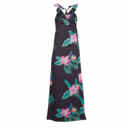 Pepe jeans  MANILA  women's Long Dress in Black