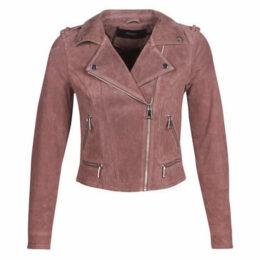 Vero Moda  VMROYCE  women's Leather jacket in Pink
