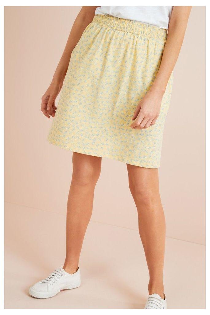 Womens Next Yellow Flippy Skirt -  Yellow