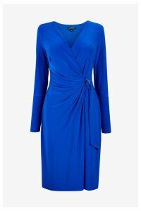 Womens Lauren Ralph Lauren Blue Casondra Dress -  Blue