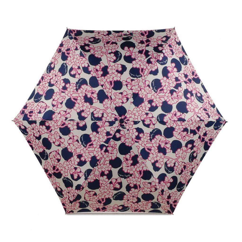 Radley London Blossom Spot Telescopic Mini Umbrella