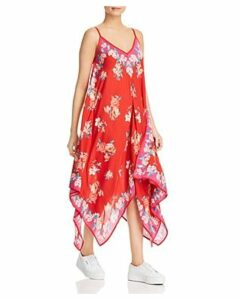 Tolani Handkerchief-Hem Floral Dress