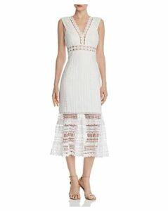 Bardot Petra Lace Midi Dress