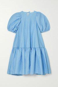 Borgo De Nor - Eliza Belted Tiered Printed Silk-twill Midi Dress - Ivory