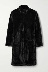 Michelle Mason - Satin-crepe Midi Dress - Black