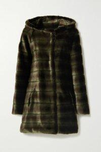 Molly Goddard - Susie Ruffled Cotton-poplin Dress - Brown