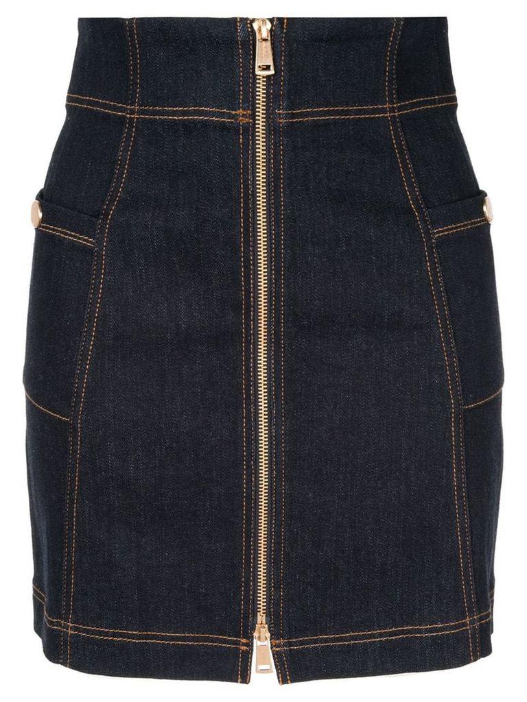 Alice Mccall Bloomsbury zip skirt - Blue