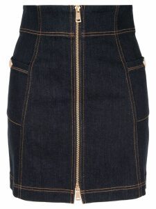 Alice Mccall Bloomsbury zip skirt - Blue