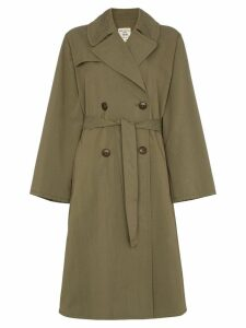 Nili Lotan Belted trench coat - Green