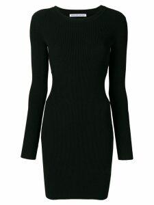 T By Alexander Wang cut-out detail dress - Black
