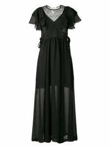 Philosophy Di Lorenzo Serafini ruffle maxi dress - Black