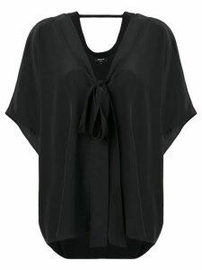 Rochas black relaxed T-shirt
